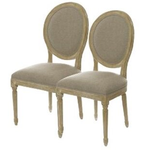 Pietsch French Vintage Round Side Chair (Set of 2) by One Allium Way