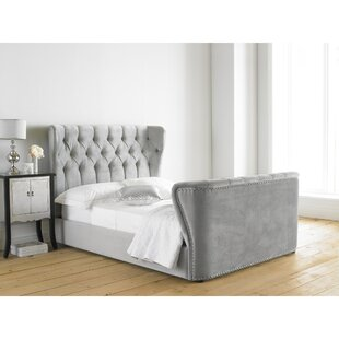 Copenhagen Upholstered Bed Frame By Symple Stuff