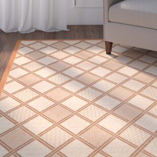 Herefordshire Teracotta/Beige Indoor/Outdoor Tile Rug