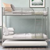 Silver Bunk Beds You Ll Love In 2021 Wayfair
