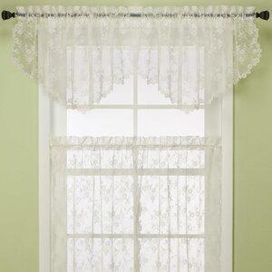 Petite Fleur Ascot Curtain Valance