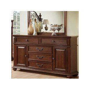 Revilla 5 Drawer Combo Dresser