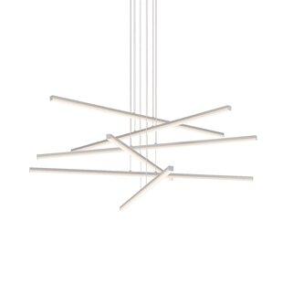 Orren Ellis Poythress 6-Light LED Geometric Chandelier