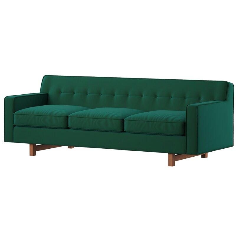 Mercury Row Lomonaco Mid Century Modern Classic Sofa & Reviews | Wayfair