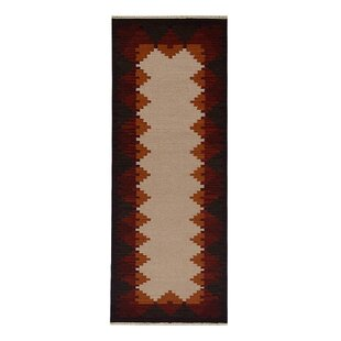 Reviews St Catherine Handmade Wool White Plum Area Rug By Millwood Pines