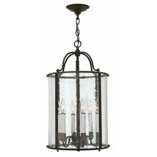 Gentry 6-Light Foyer Lantern Pendant by Hinkley Lighting