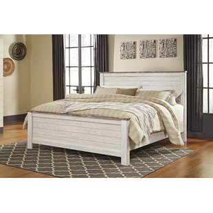 Naples Panel Bed By Three Posts