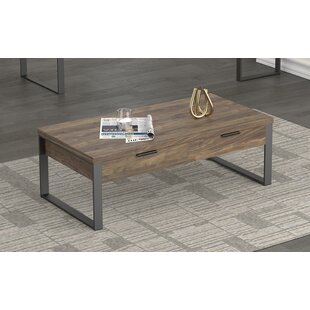 Coffee Table Aged Walnut by Union Rustic