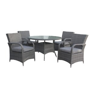 Pratolina 4 Seater Dining Set With Cushions By Sol 72 Outdoor