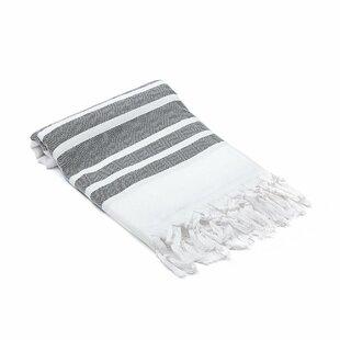 Ruthar Herringbone Turkish Cotton Beach Towel