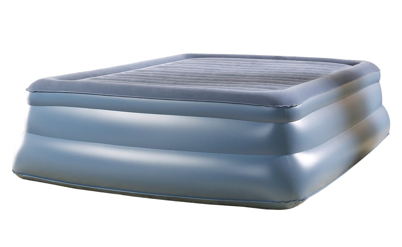 100 aerobed luxury collection raised headboard bed aerobed