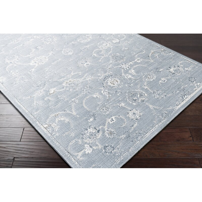 Ophelia Co Navya Whiteblue Area Rug Reviews Wayfair