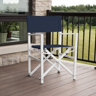 Wrought Studio Pinkham Aluminum Folding Director Chair
