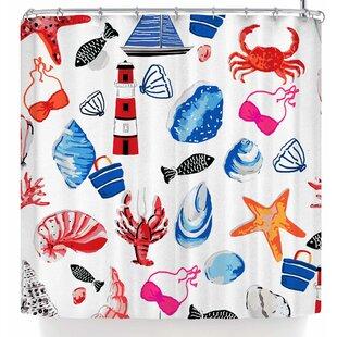Mukta Lata Barua Beach Comber Single Shower Curtain