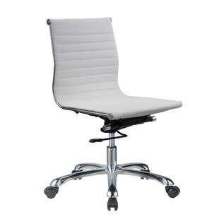Top Reviews Yang Mid Back Armless Office Chair by Orren Ellis