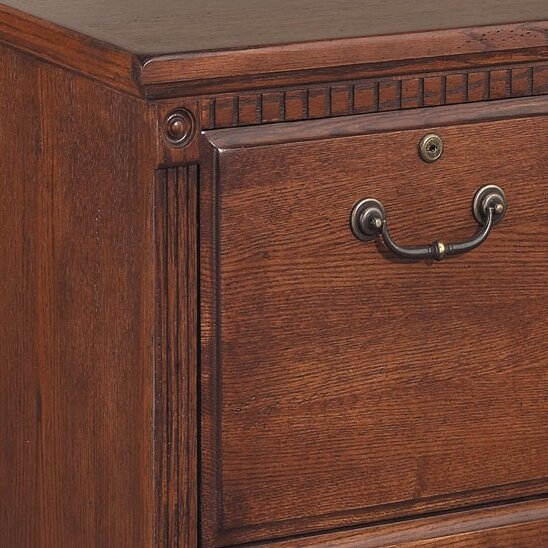 Huntington Oxford 2 Drawer File Cabinet