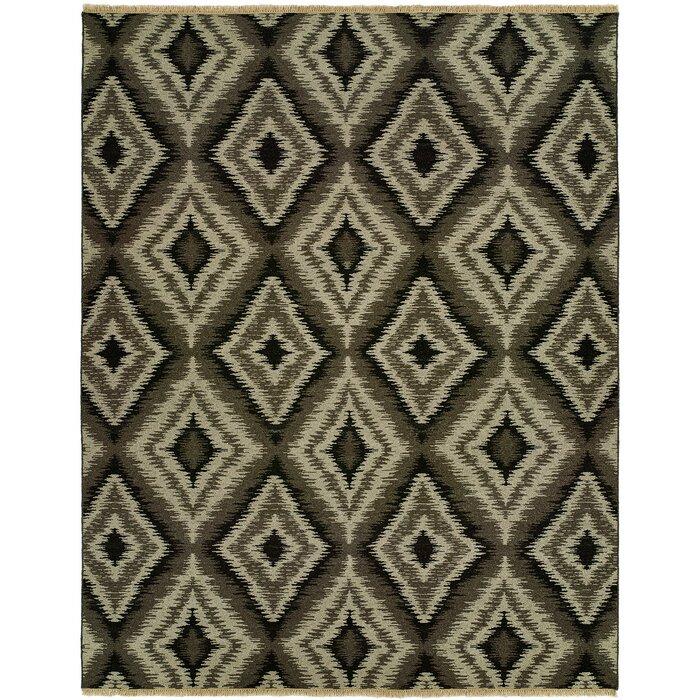 Liya Natural Wool Gray Area Rug