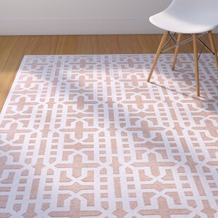 Affordable Drew Brown/White Area Rug By Corrigan Studio