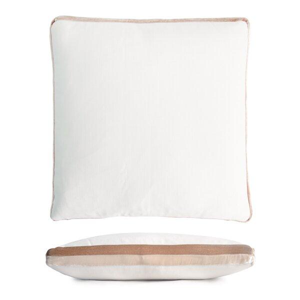 Kevin O Brien Studio Double Tuxedo Linen Throw Pillow Wayfair