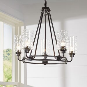 Calumet 5 Light Candle Style Chandelier