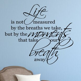 Life Is Not Measured Wall Art Wayfair