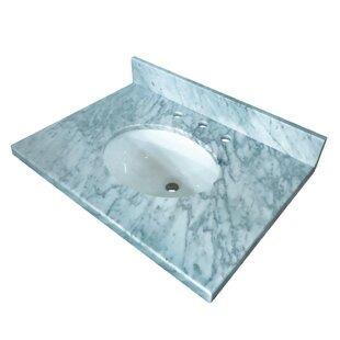 30 Single Bathroom Vanity Top By Kingston Brass