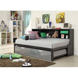 Bargain Cramlington Twin Bed and Bookcase and Trundle by Mack & Milo Reviews (2019) & Buyer's Guide