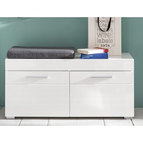 Neema Wooden Storage Bench Metro Lane