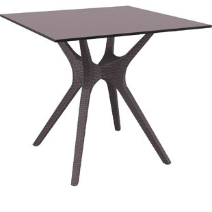 Ivy Bronx Fray Square Dining Table