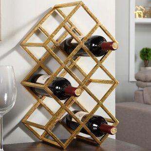 wine rack table. Vernet 9 Bottle Tabletop Wine Rack Table