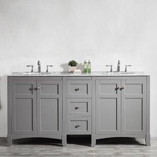72 Inch Double Sink Vanity Top | Wayfair  Inch Bathroom Vanity on 72 double sink vanity, 70 inch bathroom vanity, 46 inch bathroom vanity, lowe's 72 inch vanity, 72 inch bathroom lighting, 91 inch bathroom vanity, 23 inch bathroom vanity, 14 inch bathroom vanity, 72 inch double sink top, 68 inch bathroom vanity, 72 inch shower curtain, 85 inch bathroom vanity, 72 inch bookcase, 72 inch kitchen cabinet, 83 inch bathroom vanity, 75 inch bathroom vanity, 10 inch bathroom vanity, wall sink vanity, 72 inch double bathroom vanities, 72 inch blinds,