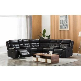 Amick Symmetrical Reclining Sectional By Red Barrel Studio