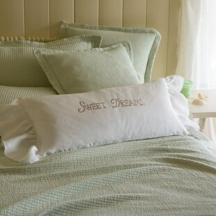 Sweet Dreams Linen Bolster Pillow