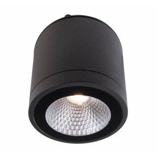 Mobby 1-Light LED Outdoor Flush Mount By Deko Light