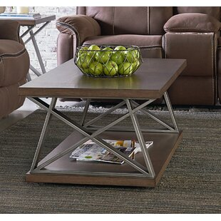 Cumberland Coffee Table with Magazine Rack by Standard Furniture