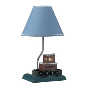 Review Handley Fishboat 20 Table Lamp by Harriet Bee