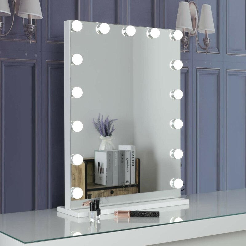 Mirror Wall Decorations - Sau Hollywood Makeup / Shaving Mirror