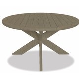 56 inch Round Dining Table In Coastal Teak