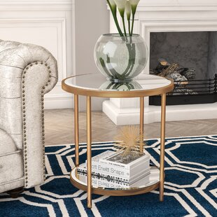 Bourassa End Table by Willa Arlo Interiors