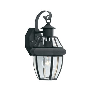 Compare & Buy Heritage 1-Light Outdoor Wall Lantern By Thomas Lighting