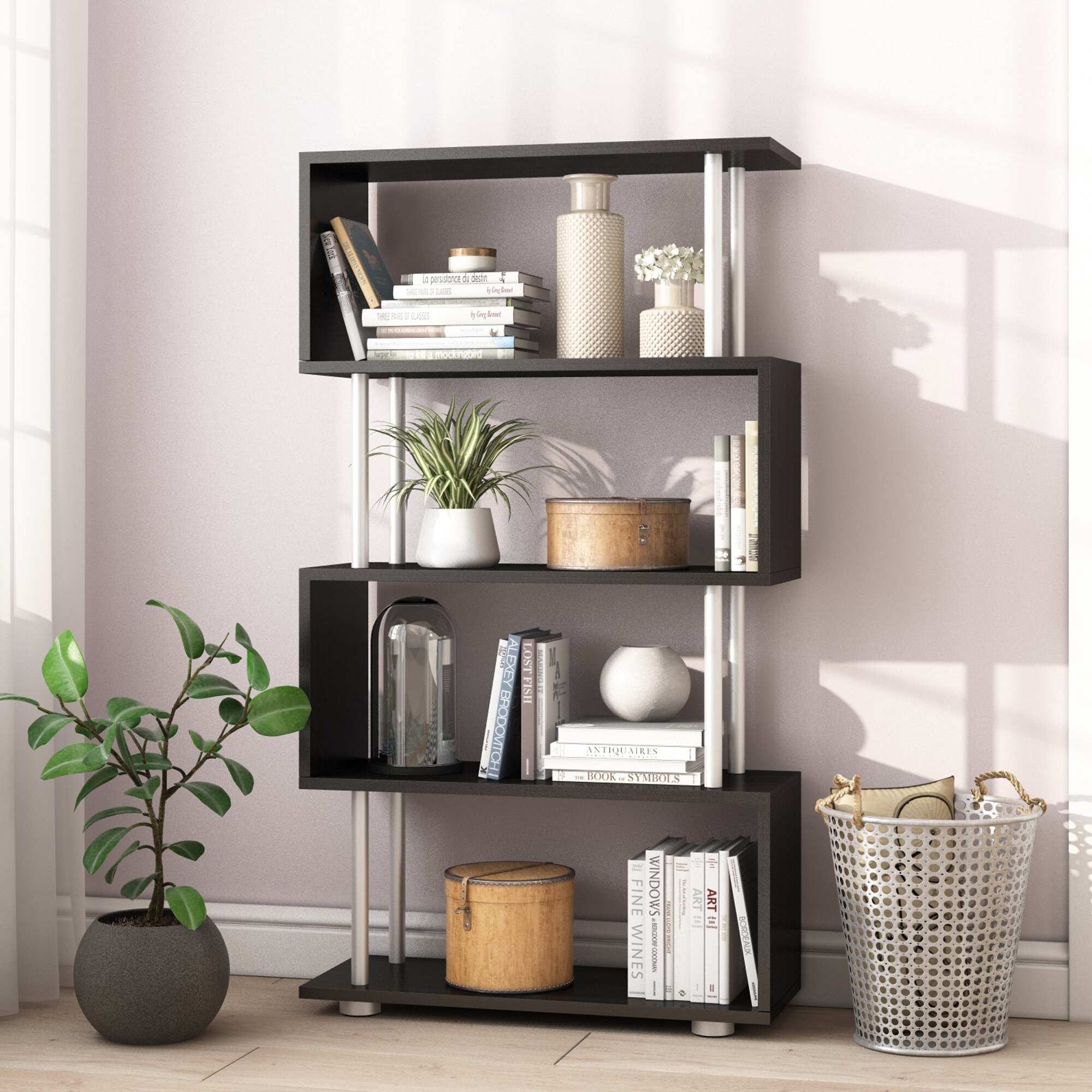 Emily S Shape Bookcase Reviews Wayfair Co Uk