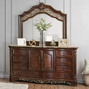 Lois 8 Drawer Double Dresser