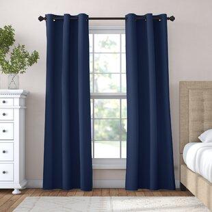Blue Bedroom Curtains   Wayfair