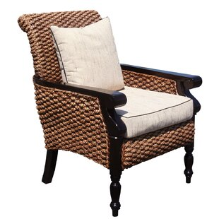 Chic Teak Water Hyacinth Milan Armchair
