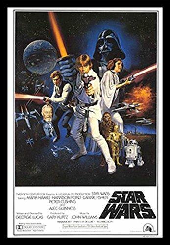 buy art for less star wars a new hope framed graphic art reviews