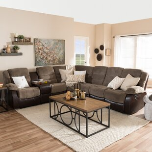 Affordable Carnegie Reclining Sectional by Red Barrel Studio Reviews (2019) & Buyer's Guide