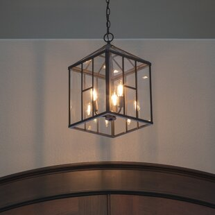 Gracie Oaks Adelaida 3-Light Lantern Pendant