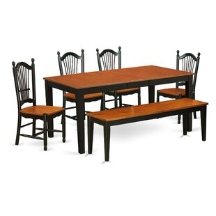 Pillar Modern 6 Piece Dining Set by Augus..