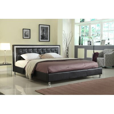 Formaran Queen Platform Bed Everly Quinn Color: Black