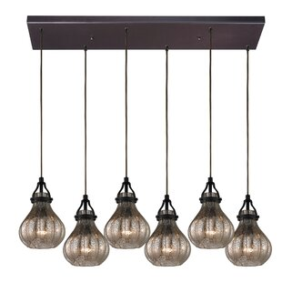 Orofino 6-Light Cluster Pendant by Laurel Foundry Modern Farmhouse